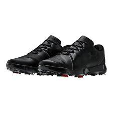 Under Armour Spieth 3 2019 Golf Shoes Black 3021204-001 Men's Size 10