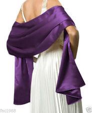 Châles/écharpe satin pour femme