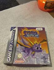 Spyro Season Of Ice Nintendo Gameboy Advance 2001 - COMPLETE - Tested - PAL