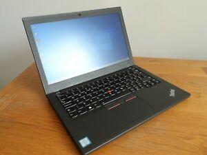 Lenovo ThinkPad X270 Laptop - 2.4GHz i5 - 256GB SSD - 4GB RAM - Windows 10 Pro