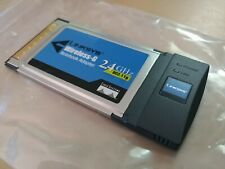 Linksys Wpc54G Wireless-G Notebook Adapter CardBus Card Laptop Pc WiF 00006000 i Certified
