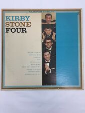 Kirby Stone Four LP 33 1/3 Record Golden Tone Alexander's Ragtime Band Clyde