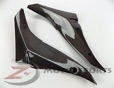 2008 2009 2010 ZX-10R ZX10R Gas Tank Side Trim Cover Fairing 100% Carbon Fiber