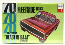AMT #Y733-200 1970 FLEETSIDE TRUCK BAJA model kit 1:25 MINT Factory Sealed p1