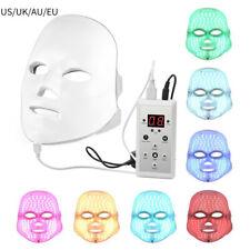7 Color LED Light Therapy Face Rejuvenation Anti Aging Facial Skin Care Portable