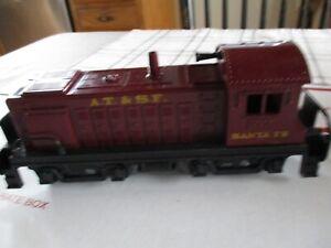 Marx Santa Fe 1998 Vintage Locomotive Engine