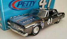 BLACK CHROME 1/24 LEE PETTY #41 1964 PLYMOUTH 1 OF ONLY 126 PRODUCED