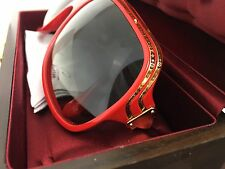 Very Rare sunglasses Louis Vuitton Millionnaire Red first edition News
