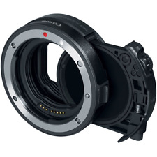 Canon EF to EOS R Drop-In Filter Lens Mount Adapter with Variable ND Filter