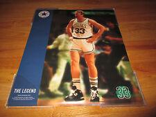 1997 Converse All-Star LARRY BIRD Boston Celtics THE LEGEND Poster CHUCK TAYLOR