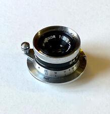 Nikon 35mm Nikkor f3.5 #442258 with Leica Screw-Mount