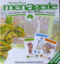 AUSTRALIAN MENAGERIE. CHALLENGING BOARD GAME ABOUT AUSTRALIA'S WILDLIFE
