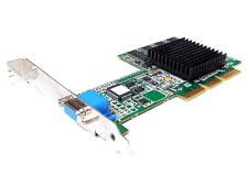 ATI RABIA 128 Pro 32mb VGA AGP Tarjeta gráfica R128 32m 1026570520 109-65700-20