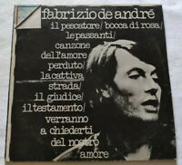FABRIZIO DE ANDRE' LP OMONIMO 33 GIRI VINYL ITALY 1975 RICORDI ORL8064 NM/NM