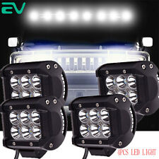 4x18W Spot Beam Clear Cab Roof  Running Light  LED Bulb for 03-09 Hummer H2