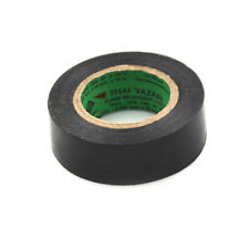 10M*20mm Black PVC Electrical Tapes Flame Retardent Insulation Adhesive Tape  Ga