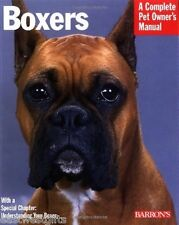 Barrons BOXERS Book Manual BOXER Health, Training, Grooming, History