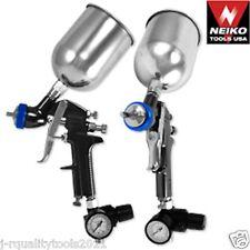 1.3mm HVLP Gravity Feed Spray Gun w/ Gauge