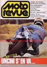 MOTO REVUE 2568 SPECIAL 50 cc ; Grand Prix de YOUGOSLAVIE Johnny O'MARA 1982