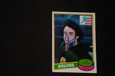 JIM CRAIG 1980-81 TOPPS ROOKIE SIGNED AUTOGRAPHED CARD #22 1980 TEAM USA GOLD