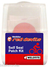WELDTITE ROUGE DEVILS VÉLO BICYCLETTE CHAMBRE À AIR AUTOSCELLANT