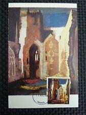GB UK MK 1968 PAINTING GEMÄLDE MAXIMUMKARTE CARTE MAXIMUM CARD MC CM c1740