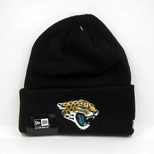 New Era Men's NFL Jacksonville Jaguars Lic Over Cuff Team Knit Beanie Hat