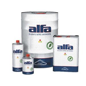 Diluente NITRO antinebbia solvente lavaggio decapaggio sgrassante pulizia