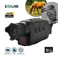 "3-12X Night Vision Monocular with 1.5"" Tft Lcd 7 Grades Ir Camera Video Recorder"