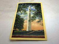 Post Card 186 Washington Monument  Washington DC 186 Linen 1940's unposted