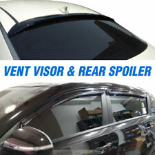 Smoke Window Vent Visor Guard Rear Spoiler Molding 5P For CHEVY 2008-2016 Cruze