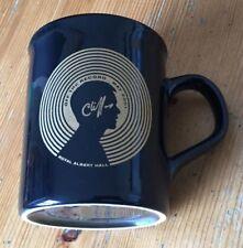 Cliff Richard Mug Off the Record 2001 Royal Albert Hall Coffee Cup