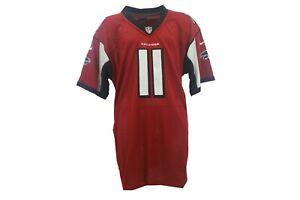 Defect Atlanta Falcons Full Stitched NFL Nike Julio Jones Youth Kids Size Jersey