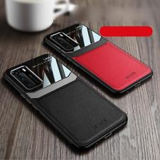 For Huawei P40 Pro Case Luxury Ultra Slim Lens PU Leather Soft Cover Nova 3i P30
