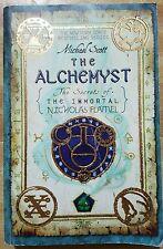 The Secrets of the Immortal Nicholas Flamel: The Alchemyst Bk. 1 by Michael...