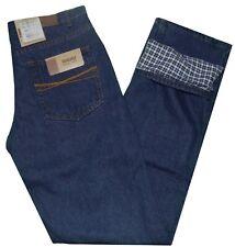 Jeans uomo foderato 46 48 50 52 54 56 BRUGI pantalone denim invernale OCCASIONE