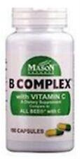 Mason Natural B Complex with Vitamin C 100 ea