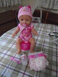 BABY BORN GIRL  DOLL