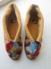VINTAGE PIRELLI SLIPPERS SIZE 7 USED FLEXIBLE RUBBER SOLES MADE IN ENGLAND OLD