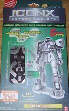 MS-06 Zaku II ICONX 3D Laser Cut Metal Model Kit Gundam Fascinations ICX102