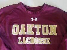 Oakton Lacrosse Vienna Virginia High School Under Armour HeatGear Ls Shirt Xl