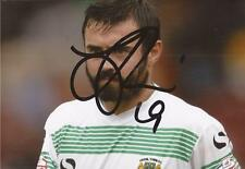 YEOVIL: JACK PRICE SIGNED 6x4 ACTION PHOTO+COA