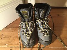 LA SPORTIVA Womens Hiking Walking Expedition Suede Leather Boots UK 5 Very Retro