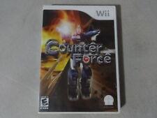 EUC Counter Force - Nintendo Wii Game No Manual Free Ship