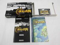 U1300 Nintendo Gameboy Advance Golden Sun Japan GBA w/box