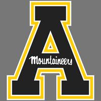 Appalachian State Mountaineers NCAA Football Vinyl Sticker Car Truck Decal Yeti