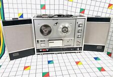 Vintage Sony TC-540 Reel to Reel Tape Recorder Player With Detachable Speakers
