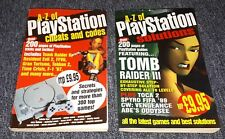 PLAYSTATION 1 PS1 BOOKS A-Z OF PLAYSTATION SOLUTIONS & A-Z OF CHEATS & CODES