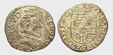 SAVOIA - CARLO EMANUELE I 1580-1630 - SOLDO 1595 A G   RARA !