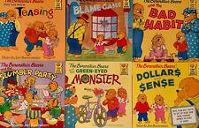 Berenstain Bears, Lot of 6 Paperback Books